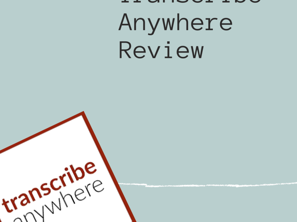 Transcribe Anywhere Review