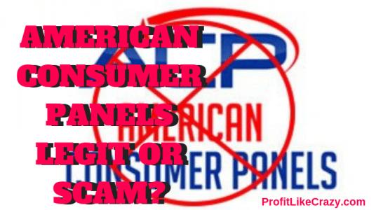 american consumer panels scam