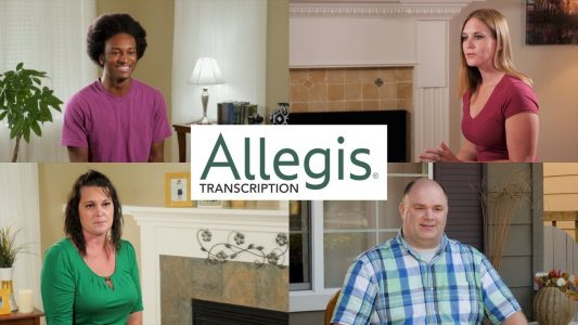 Allegis Transcription